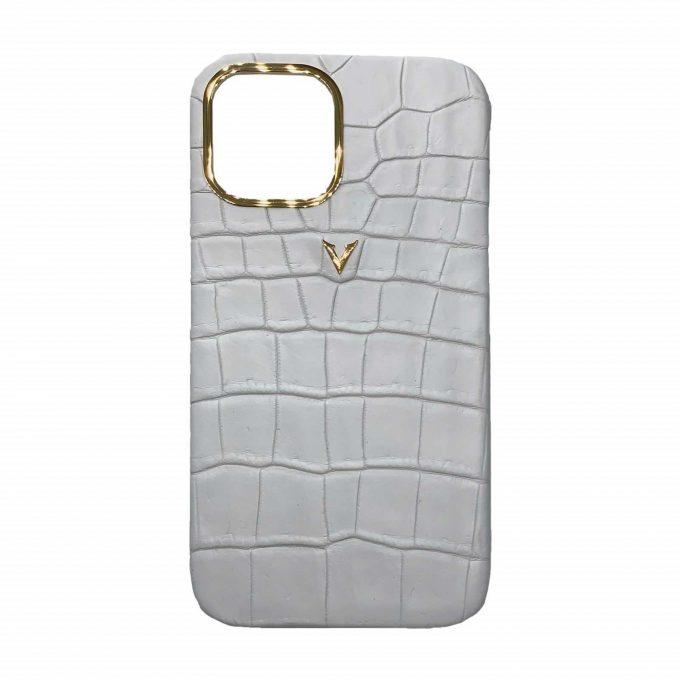 Crocodile-Leather-Case